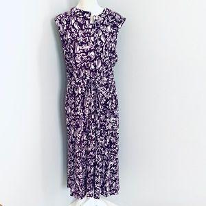 Ashley Stewart purple maxi dress plus size 18/20